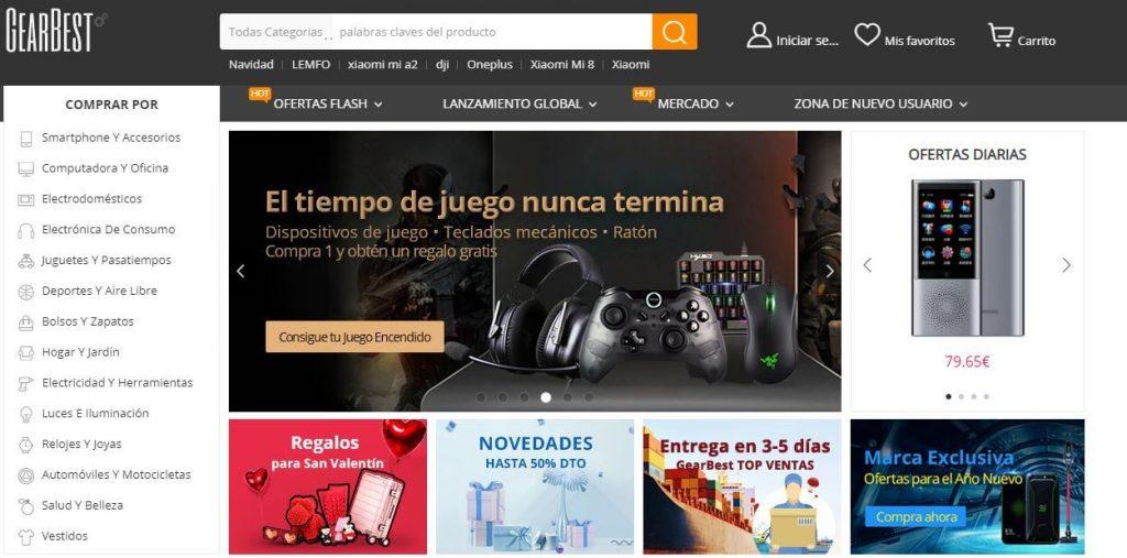 que puedo comprar en gearbest en español desde españa