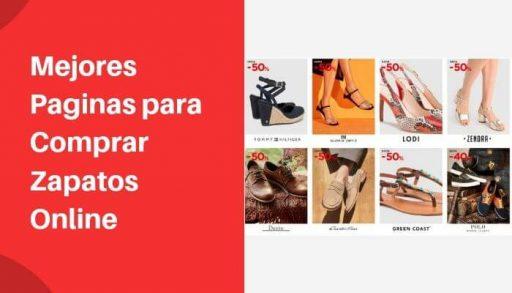 Mejores Paginas para Comprar Zapatos Online
