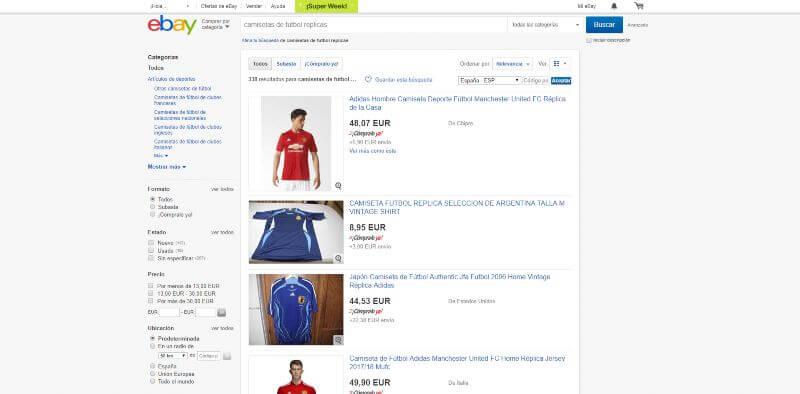 Las Mejores Páginas para Comprar Camisetas de Fútbol Réplicas