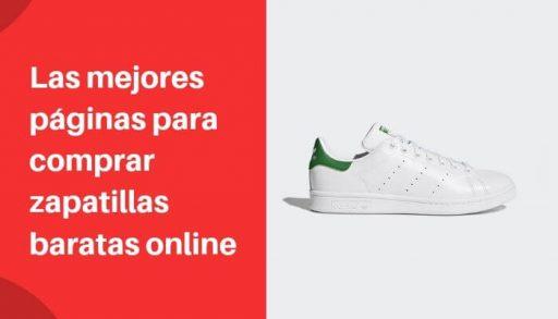 mejores paginas para comprar zapatillas baratas online